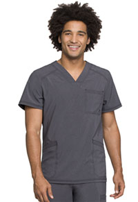 Cherokee Men's V-Neck Top Heather Charcoal (CK900A-HTCH)