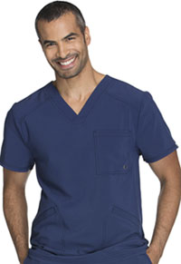 Men's V-Neck Top Navy (CK900A-NYPS)