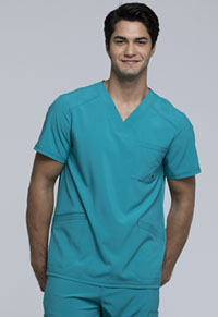 Cherokee Men's V-Neck Top Teal Blue (CK900A-TLPS)