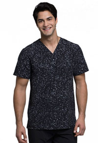 Cherokee Men's V-Neck Top Brush Hour (CK902-BHHR)