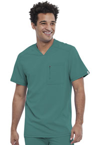 Men's V-Neck Top Hunter Green (CK910A-HNPS)