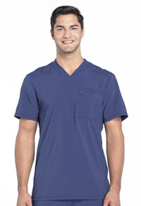 Cherokee Men's Tuckable V-Neck Top Navy (CK910A-NYPS)