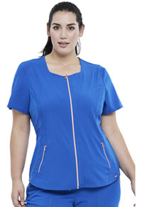 Cherokee Zip Front Top Royal (CK915-ROY)