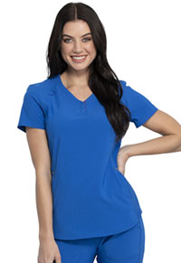 Cherokee V-Neck Top Royal (CKK815-ROY)