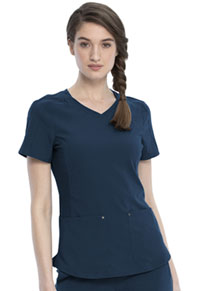 Cherokee V-Neck Top Navy (CKK817-NAV)