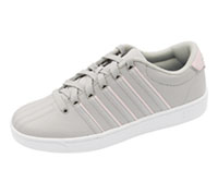K-Swiss Footwear - Athletic GullGrey,Potpourri,White (CMFCOURTPROII-GGPW)
