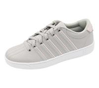 K-Swiss Footwear - Athletic GullGrey,Potpourri,White (CMFCOURTPROII-GGPW)