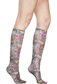 Celeste Stein Knee High 8-15 mmHg Compression Wild Neon (CMPS-2112)