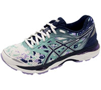 Asics T5D8N-7007 Premium Athletic Footwear White, Indigo Blue, Lavender (CUMULUS-WBL)
