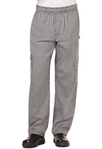 Dickies Chef Men's 5 Pocket Cargo Pant Houndstooth (DC10-HDTH)