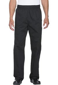 Dickies Chef Unisex Elastic Waist Cargo Pocket Pant Black (DC12-BLK)