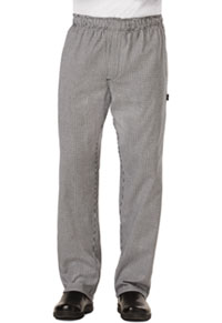 Dickies Chef Men's Traditional Baggy Zipper Fly Pant Houndstooth (DC14-HDTH)