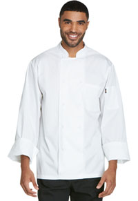 Dickies Chef Unsiex Cool Breeze Chef Coat White (DC410-WHT)