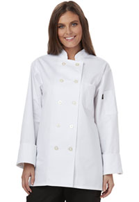 Dickies Chef Women's Classic Chef Coat White (DC414-WHT)