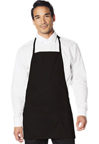 Dickies Chef 3 Pocket Bib Apron with Adjustable Neck Black (DC51-BLK)