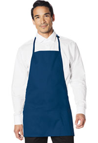 Dickies Chef 3 Pocket Bib Apron with Adjustable Neck Royal (DC51-ROYL)