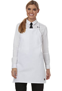Dickies Chef Bib Apron with Adjustable Neck White (DC52-WHT)