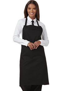 Dickies Chef Set Strap, No Pocket Bib Apron Black (DC54-BLK)