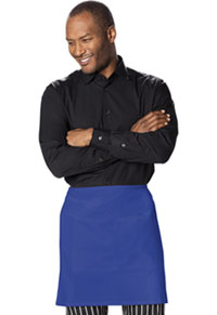 Dickies Chef Half Bistro Waist Apron with 2 Pockets Royal (DC57-ROYL)