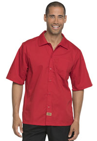 Dickies Chef Unisex Cool Breeze Shirt Red (DC61-RED)