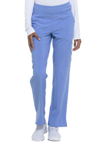 Natural Rise Tapered Leg Pull-On Pant Ciel (DK005-CIPS)