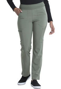 Every Day EDS Essentials Natural Rise Tapered Leg Pull-On Pant (DK005-OLV) (DK005-OLV)