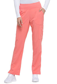 Dickies Natural Rise Tapered Leg Pull-On Pant Ravashing Coral (DK005-RACO)