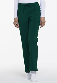 Mid Rise Straight Leg Drawstring Pant (DK010P-HNPS)