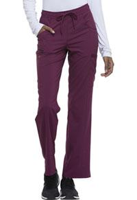 Mid Rise Straight Leg Drawstring Pant (DK010P-WNPS)