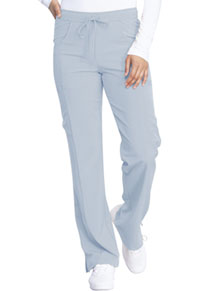 Every Day EDS Essentials Mid Rise Straight Leg Drawstring Pant (DK010-GRY) (DK010-GRY)