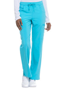 Every Day EDS Essentials Mid Rise Straight Leg Drawstring Pant (DK010-TRQ) (DK010-TRQ)