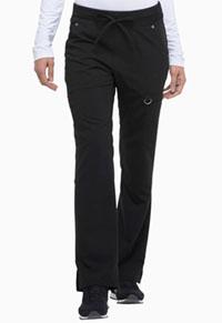 Dickies Mid Rise Rib Knit Waistband Pant Black (DK020-BLKZ)