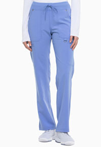 Dickies Mid Rise Rib Knit Waistband Pant Ceil Blue (DK020-CBLZ)