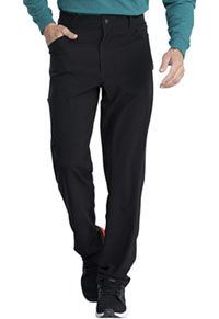 Retro Men's Natural Rise Straight Leg Pant (DK055-BLK) (DK055-BLK)