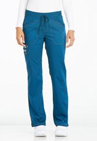 Mid Rise Straight Leg Drawstring Pant (DK106P-CAR)