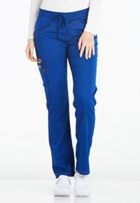 Mid Rise Straight Leg Drawstring Pant (DK106P-GAB)