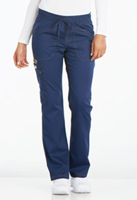 Mid Rise Straight Leg Drawstring Pant (DK106P-NAV)