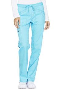 Mid Rise Straight Leg Drawstring Pant (DK106P-TRQ)