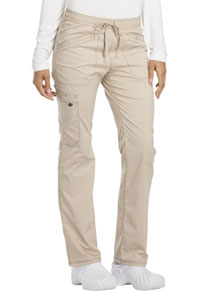 Mid Rise Straight Leg Drawstring Pant (DK106T-KAK)