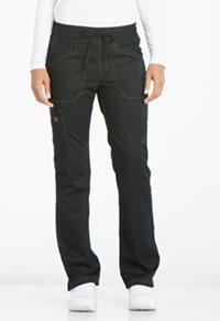 Dickies Mid Rise Straight Leg Drawstring Pant Black (DK106-BLK)