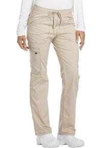 Mid Rise Straight Leg Drawstring Pant (DK106-KAK)