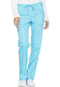 Dickies Mid Rise Straight Leg Drawstring Pant Turquoise (DK106-TRQ)