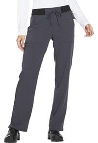 Mid Rise Straight Leg Drawstring Pant (DK112P-PWT)