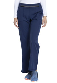 Dickies Mid Rise Moderate Flare Leg Pull-on Pant Navy (DK115-NAV)
