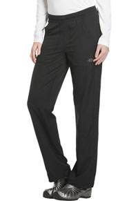 Mid Rise Straight Leg Pull-on Pant (DK120P-BLK)