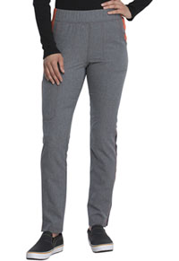 Dickies Mid Rise Tapered Leg Pull-on Pant Heather Pewter (DK121-HTPT)