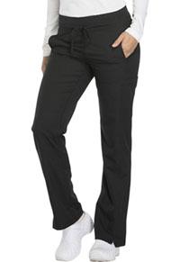 Mid Rise Straight Leg Drawstring Pant (DK130T-BLK)