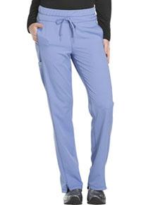 Mid Rise Straight Leg Drawstring Pant (DK130T-CIE)