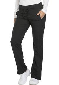 Dickies Mid Rise Straight Leg Drawstring Pant Black (DK130-BLK)