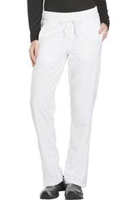 Dickies Mid Rise Straight Leg Drawstring Pant White (DK130-WHT)